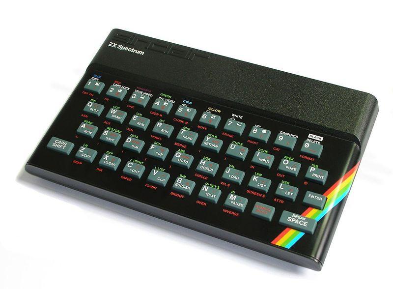 ZX Spectrum 8-bit personal home computer