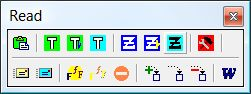 SuperMemo: Read toolbar used in incremental reading
